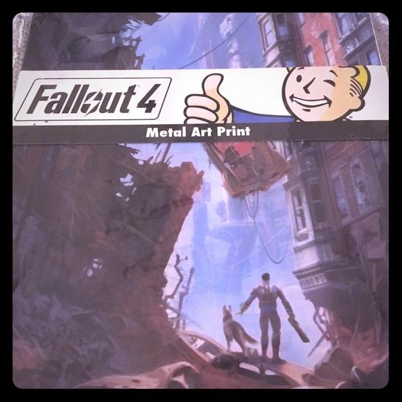 Fallout 4 👍🏼 Metal Art Print Boutique